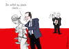 Cartoon: Justitia-Grapscher (small) by Pfohlmann tagged karikatur,cartoon,color,farbe,2017,polen,justizreform,ministerpräsident,morawiecki,justiz,rechtsstaat,kontrolle,regierung,pis,orban,ungarn,beifall,applaus,eu,europa,justitia,justizia,grabscher,belästigung,metoo