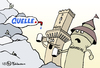 Cartoon: versiegende Quelle (small) by Pfohlmann tagged quelle,insolvenz,pleite,aus,nürnberg,fürth