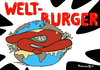 Cartoon: Welt-Burger (small) by Pfohlmann tagged karikatur,cartoon,color,farbe,2013,welt,erde,globus,global,burger,hamburger,fleischskandal,pferdefleisch,fleisch,fleischproduktion,lebensmittel,lebensmittelskandal,deklarierung,rindfleisch,fastfood,fertigprodukte,nahrung,nahrungsmittelindustrie,lebensmitt