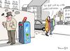 Cartoon: Zu viele Ladestationen (small) by Pfohlmann tagged 2019,deutschland,elektromobilität,eauto,elektroauto,ladestation,infrastruktur,internet,geladen,ladung,wut,wutbürger,hass,hetze,aggression,soziale,medien,social,media,twitter,facebook,whatsapp,telegram,youtube,filterblasen,emotion,user,hate,speech,strom