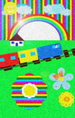 Cartoon: Rainbow (small) by NITA tagged rainbow