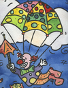 Cartoon: clown (small) by sabine voigt tagged clown,narr,karneval,verkleiden