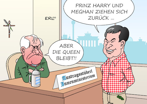 Harry Meghan Horst Markus
