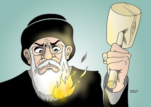 Cartoon: Iran (medium) by Erl tagged iran,protest,opposition,unterdrückung,mullah,iran,opposition,unterdrückung,mullah,protest,proteste,protestanten,unruhen,aufstand,bürger,gewalt,polizei