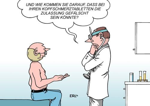 Medikamente Comic