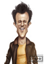 Cartoon: johnny knoxville (small) by billfy tagged mtv,show,jackass