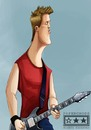 Cartoon: Josh  Homme (small) by billfy tagged music,rock,queens,of,the,stone,age