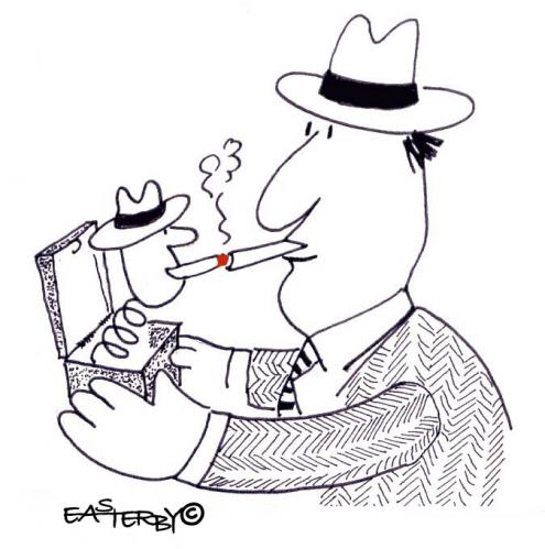 Cartoon: Smoke signals 6 (medium) by EASTERBY tagged smoking