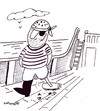 Cartoon: CLEANER SWEEP (small) by EASTERBY tagged handwerk,sweeper