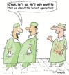 Cartoon: Cutting remarks! (small) by EASTERBY tagged doctrs surgeons operations