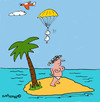 Cartoon: Deserted Island! (small) by EASTERBY tagged desertisland