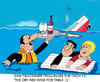 Cartoon: In veritas vino 2 (small) by EASTERBY tagged wine cruise shipwrecks