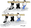 Cartoon: Men at work (small) by EASTERBY tagged worksmen