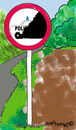 Cartoon: Road Signs 9 (small) by EASTERBY tagged road,works,signs