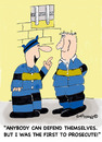 Cartoon: Self Prosecution (small) by EASTERBY tagged prison,convicts