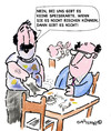 Cartoon: SPEISEKARTE!!??? (small) by EASTERBY tagged restaraunts eatingout
