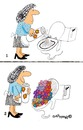 Cartoon: Toilet Flowers (small) by EASTERBY tagged toilets,clening,powder
