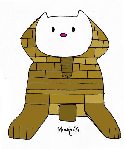 Sphinx Cartoon Sketch 3 - Coghill Cartooning - Cartooning ...