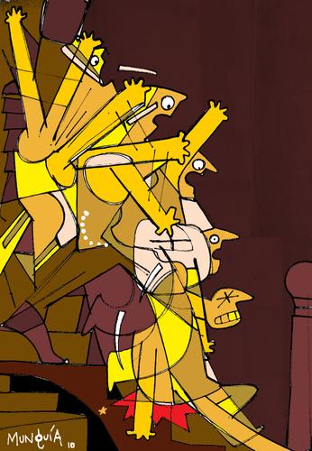 Well, Duchamp nude descending stairs