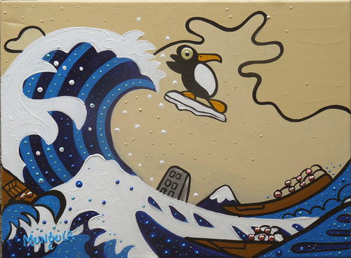 Cartoon Tsunami Pictures