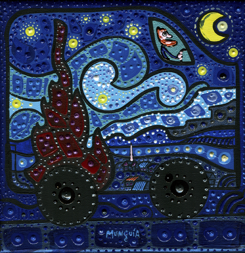 Cartoon: Van (medium) by Munguia tagged famous,paintings,parodies,munguia,van,gogh,iconic,paint,starry,night