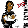Cartoon: Dad Michaeljack Son (small) by Munguia tagged bad,michael,jackson,cover,album,parody,iconic,son,dad,parent,father,papa,padre