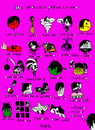 Cartoon: Emos (small) by Munguia tagged emo,sufijos,idioma,lenguaje,hemo
