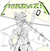 Cartoon: Mordaza (small) by Munguia tagged metallica,and,justice,for,all,cover,album,parodies,parody,spoof,version,disc