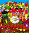 Cartoon: Peppers (small) by Munguia tagged beatles,sgt,pepper,lonely,hearts,club,band,cover,album,parodies,parody,chili