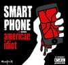 Cartoon: Smart phone Vs American Idiot (small) by Munguia tagged green,day,american,idiot,cover,album,parody,smartphone,phone,broken,doh