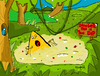 Cartoon: This is too dip! (small) by Munguia tagged nacho,dip,quick,sand,arena,movediza