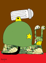 Cartoon: War Snail (small) by Munguia tagged war,snail,soldier,caracol,shell,salt,sal,killer,enemy,fight,fighter,hate