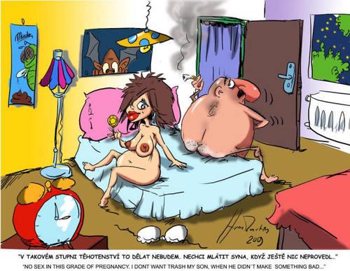 Pregnant cartoon sex