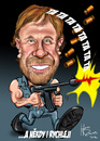 Cartoon: Chuck Norriss (small) by Martin Hron tagged chuck