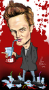 Cartoon: EDWARD CULLEN (small) by Martin Hron tagged edward