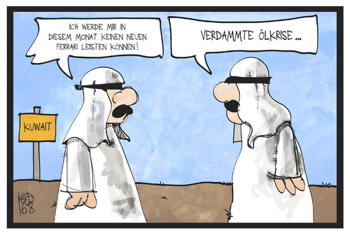 Armut in kuwait by kostas koufogiorgos politics cartoon for Atmender deckel