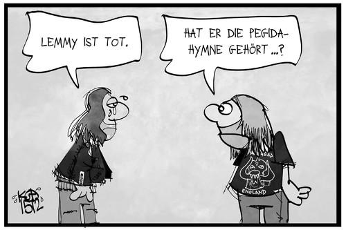 Lemmy Karikatur