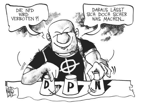 Karikatur Npd