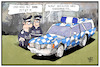 Cartoon: Bayern-Polizei (small) by Kostas Koufogiorgos tagged karikatur,koufogiorgos,illustration,cartoon,seehofer,bayern,csu,innenministerium,polizei,sicherheit,polizist