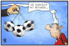 Cartoon: Bundesliga (small) by Kostas Koufogiorgos tagged karikatur,koufogiorgos,illustration,cartoon,bundesliga,fussball,michel,sport,hypnose,pendel,trance