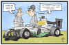 Cartoon: Nico Rosberg (small) by Kostas Koufogiorgos tagged karikatur koufogiorgos illustration cartoon nico rosberg formel eins rennsport motorsport hamilton karriereende