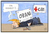 Cartoon: Obamacare (small) by Kostas Koufogiorgos tagged karikatur,koufogiorgos,illustration,cartoon,obamacare,trump,umbau,arzt,krankenversicherung,usa,sozialstaat