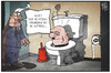 Cartoon: Rechtsextremismus (small) by Kostas Koufogiorgos tagged koufogiorgos,illustration,cartoon,karikatur,neonazi,rechtsextremismus,toilette,auftrieb,klo,politik,michel