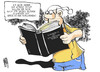 Cartoon: Spree-Athen (small) by Kostas Koufogiorgos tagged steuerzahler,michel,ber,berlin,flughafen,spree,athen,geld,buch,karikatur,kostas,koufogiorgos