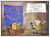 Cartoon: Start zur Europawahl (small) by Kostas Koufogiorgos tagged karikatur,koufogiorgos,illustration,cartoon,europa,europawahl,conchita,esc,eurovision,abstimmung,wahlurne,wähler,bürger,politik,demokratie