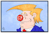 Cartoon: Trumps G7 (small) by Kostas Koufogiorgos tagged karikatur,koufogiorgos,cartoon,illustration,trump,clown,g7,sizilien,gipfel,taormina,usa,präsident