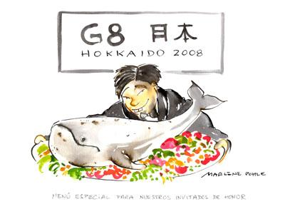 Cartoon: Hokkaido 2008 (medium) by Marlene Pohle tagged cartoon,