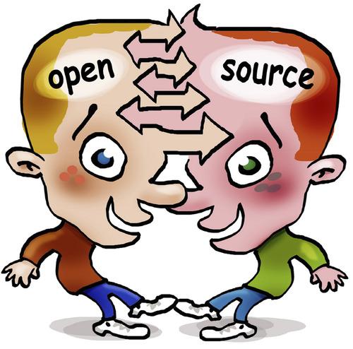 Open Source By Illustrator Education Tech Cartoon