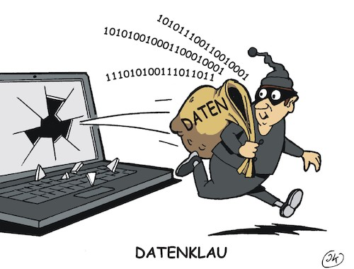 Cartoon: Datenklau (medium) by JotKa tagged internet,smartphone,handy,laptop,daten,hacker,leaker,prominente,politiker,datenschutz,datensicherheit,datenklau,internet,smartphone,handy,laptop,daten,hacker,leaker,prominente,politiker,datenschutz,datensicherheit,datenklau