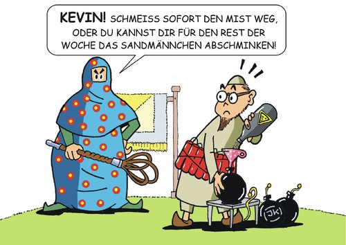 Erziehungsprobleme By JotKa  Media & Culture Cartoon